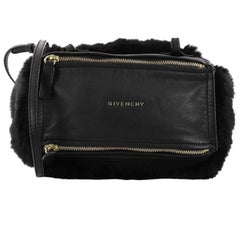 Givenchy Pandora Bag Leather and Fur Mini