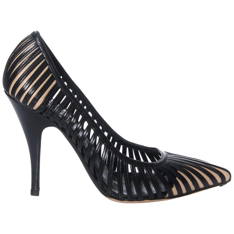 e1285384ae0b New Tom Ford for Gucci Kate Moss Cage Heels Pumps Rare Sz 36 For Sale