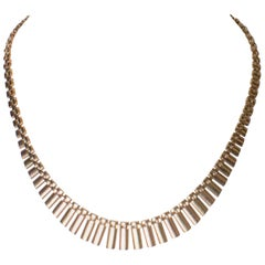 Necklace in Yellow and Rose Gold