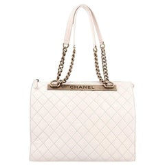 Chanel Rita Dome Bag Quilted Goatskin Large