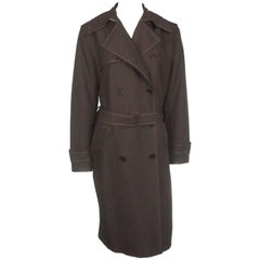 Ralph Lauren BL Brown Rain Coat