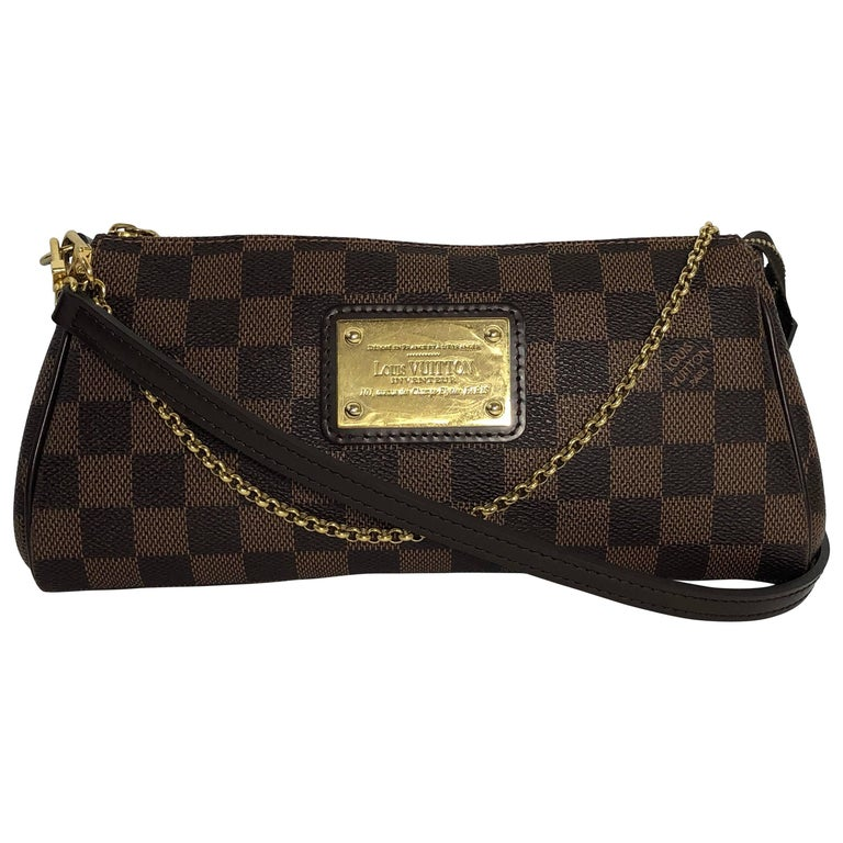 Louis Vuitton Damier Ebene Eva Crossbody Bag