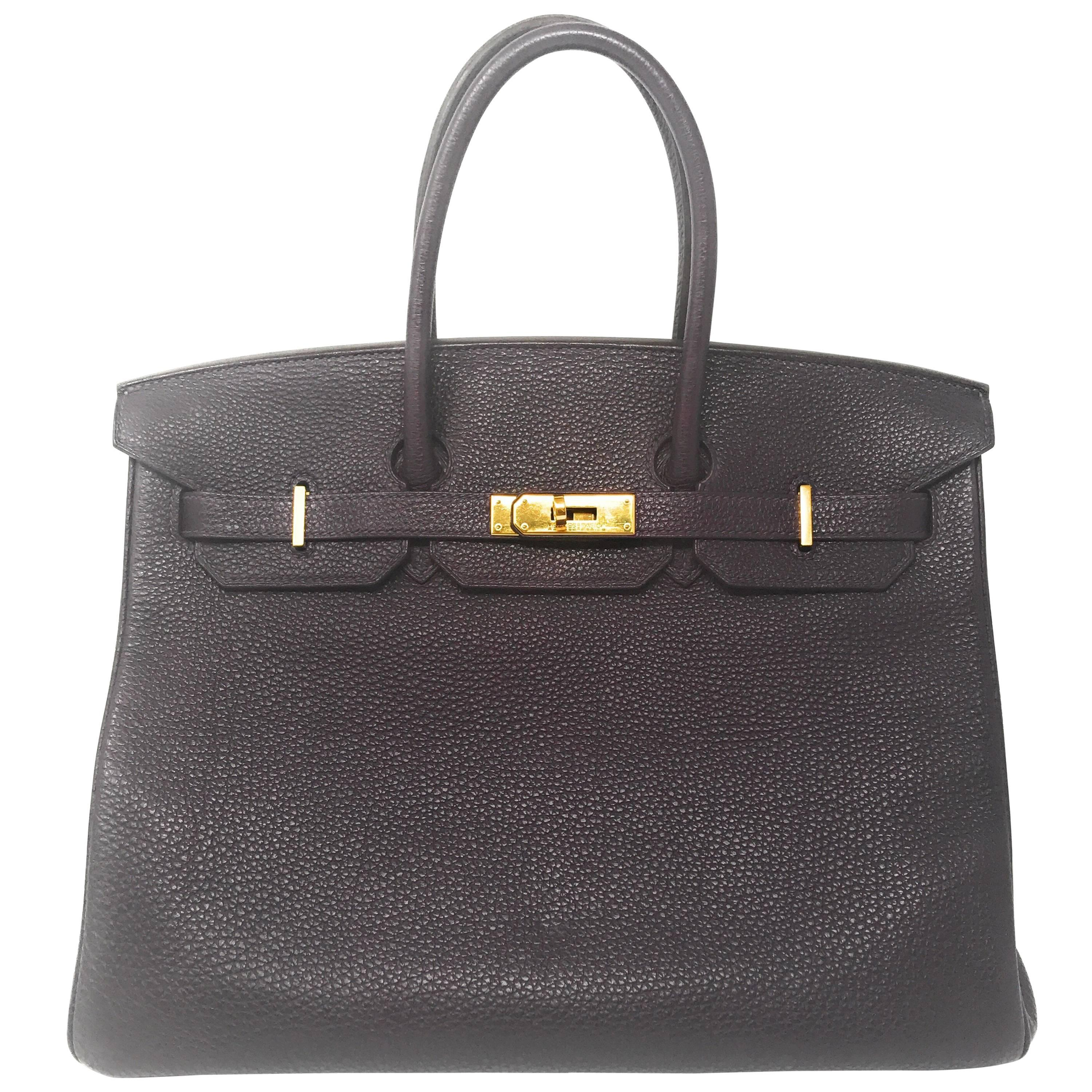 57d94f9c70e4 Hermes Kelly 28 Black Epsom Leather with Gold Hardware For Sale at 1stdibs