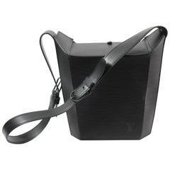 Louis Vuitton Bento Box Black Epi Leather Bag, 1997