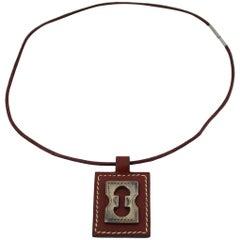 Hermes Touareg Silver Necklace, 2001