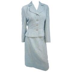 1940s Grey Twill Suit Set