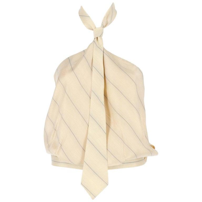 Alexander McQueen Vintage Silk Top, 2000s