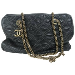 Chanel Quilted Bowler