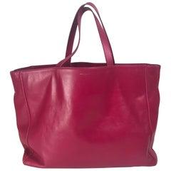 Saint Laurent Leather/Suede Reversible Shopper Tote