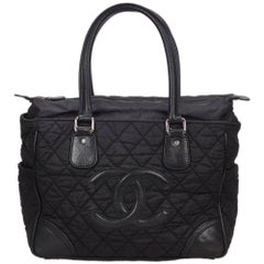 Chanel Black New York Line Handbag