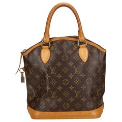 Louis Vuitton Brown Monogram Lockit
