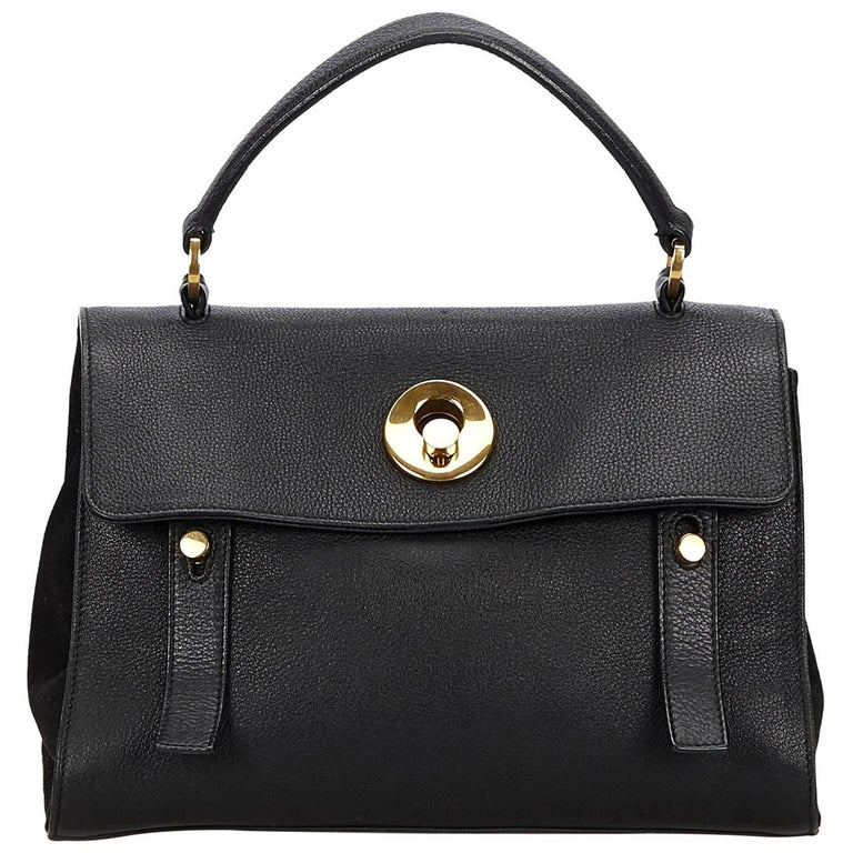 YSL Black Small Muse Two