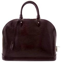 Louis Vuitton Alma Epi Prune MM