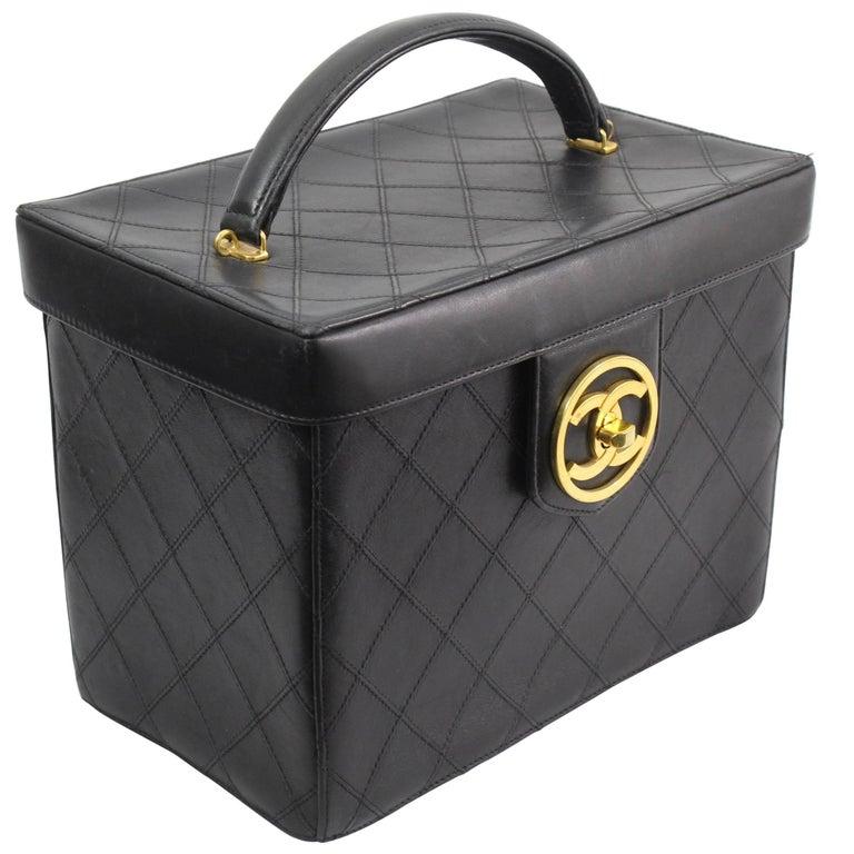 Chanel Vintage Rigide Vanity Case, 1990s