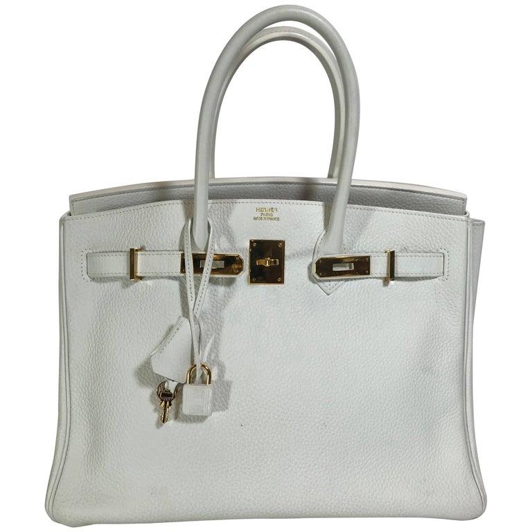 Hermès Birkin 35cm White Togo