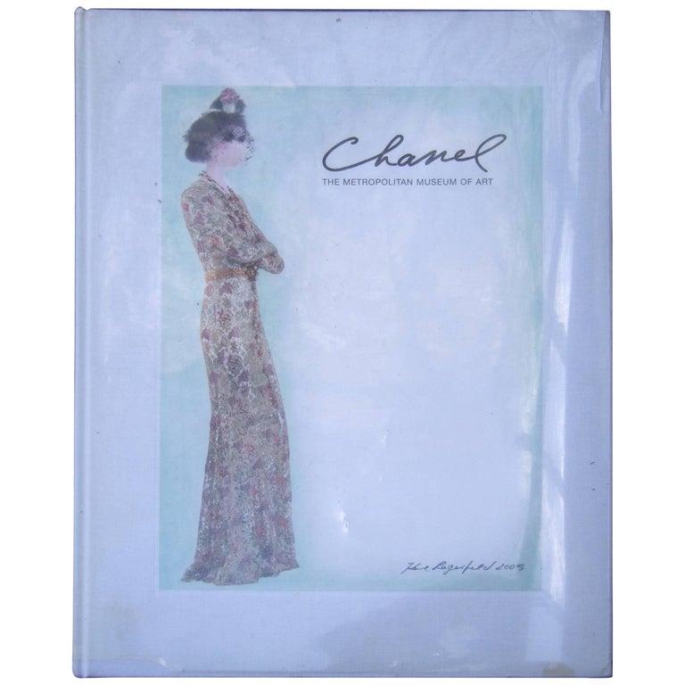 Chanel The Metropolitan Museum of Art Hardcover Book circa 2005