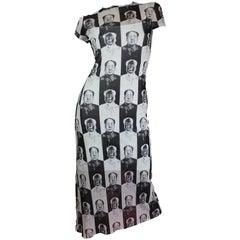 Vivienne Tam Mao Pop Art Maxi Dress, S / S 1995