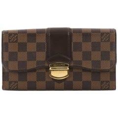 Louis Vuitton Sistina Wallet Damier