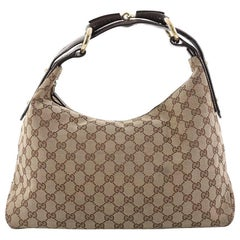 Gucci Horsebit Hobo GG Canvas Medium