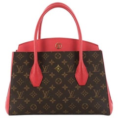 Louis Vuitton Florine Handbag Monogram Canvas and Leather