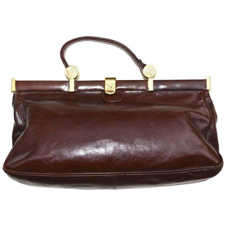 70s Bottega Veneta Leather Bag