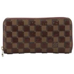 Louis Vuitton Zippy Wallet Damier Paillettes