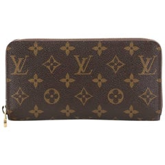 Louis Vuitton Zippy Wallet Monogram Canvas