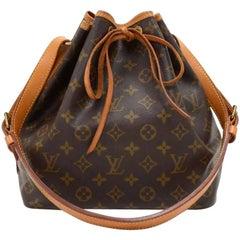 Vintage Louis Vuitton Petit Noe Monogram Canvas Shoulder Bag