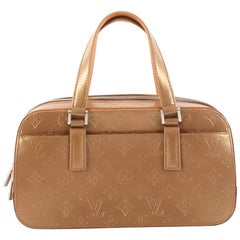 Louis Vuitton Mat Shelton Handbag Monogram Vernis