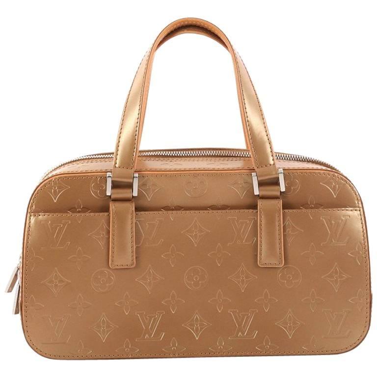 Louis Vuitton Mat Shelton Handbag Monogram Vernis