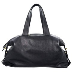 Black Reed Krakoff Leather Tote Bag