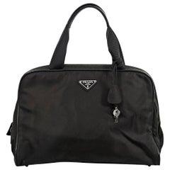 Olive Prada Nylon Handbag
