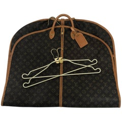 Louis Vuitton Monogram Garment Bag (Canvas on both sides)