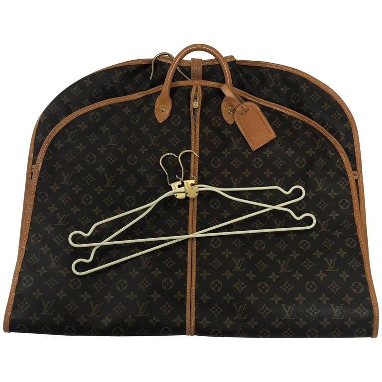 Louis Vuitton Monogram Garment Bag (Canvas on both sides)