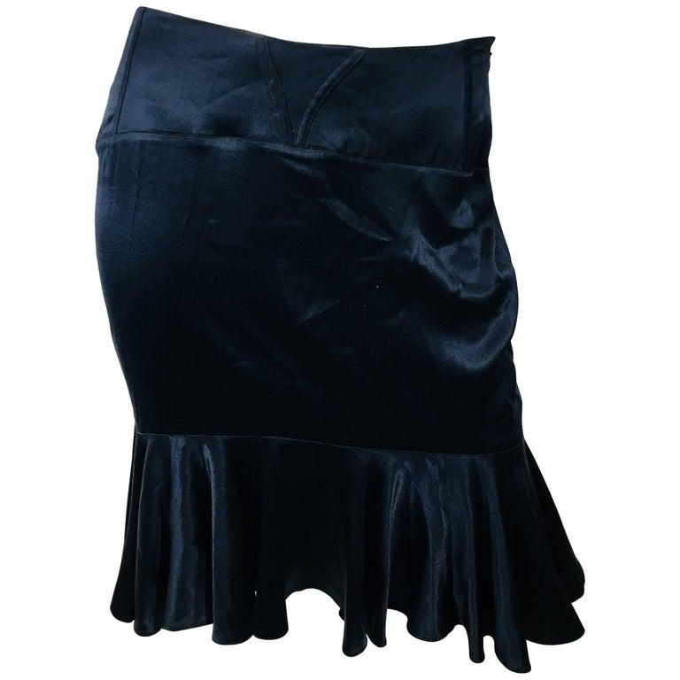 Blumarine High-Waisted Skirt
