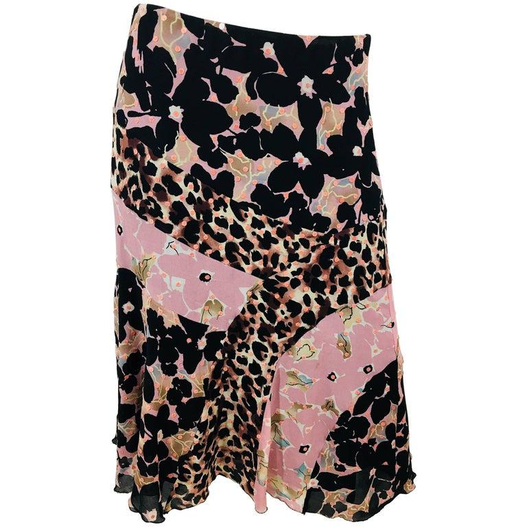 Nicole Miller Floral Skirt