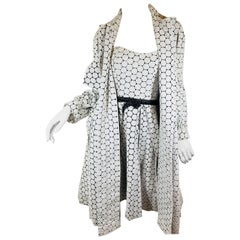 Carolina Herrera 2 Piece Dress and Jacket Set