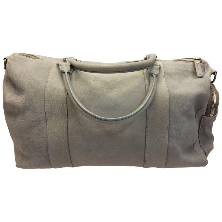 Brunello Cucinelli Taupe Leather Bag