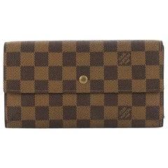 Louis Vuitton Porte Tresor International Wallet Damier