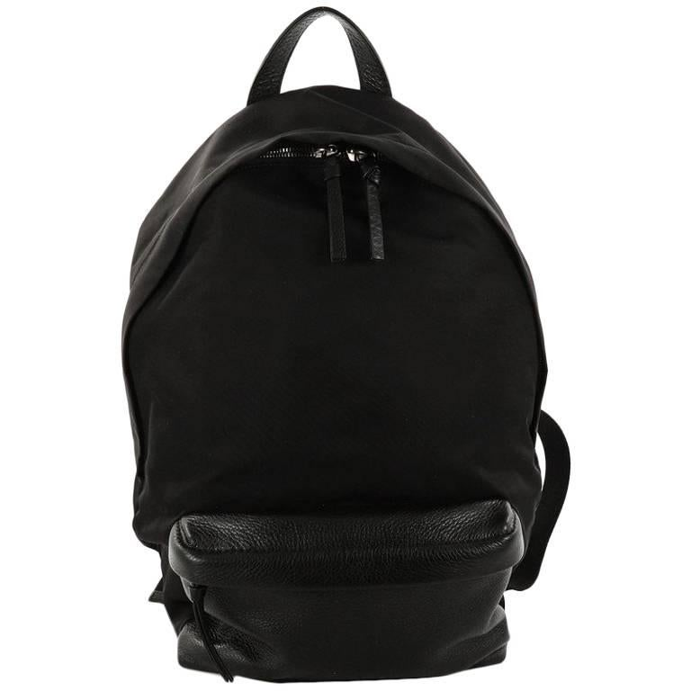 Givenchy Pocket Backpack Nylon with Studded Leather Small