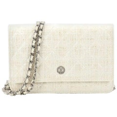 Chanel Wallet on Chain Quilted Tweed