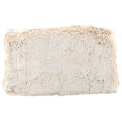 Prada Clutch Faux Fur Oversized