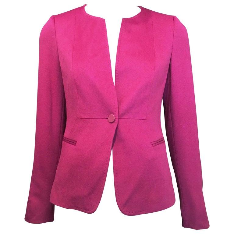 Max Mara NWT Purple Blazer
