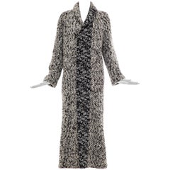 Gianfranco Ferre Snap Front Long Sweater Coat, Circa 1990's