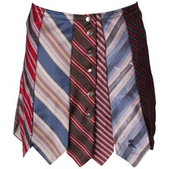 Vintage Novelty Skirt mad out of Ties