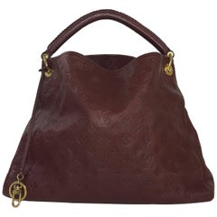 Louis Vuitton Empriente Artsy MM in Raisin Hobo Bag