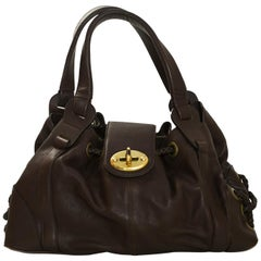 Mulberry Brown Leather Tote Bag with Dust Bag