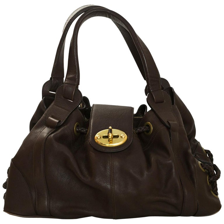 Mulberry Brown Leather Bayswater For Sale at 1stdibs b0a64559298d6