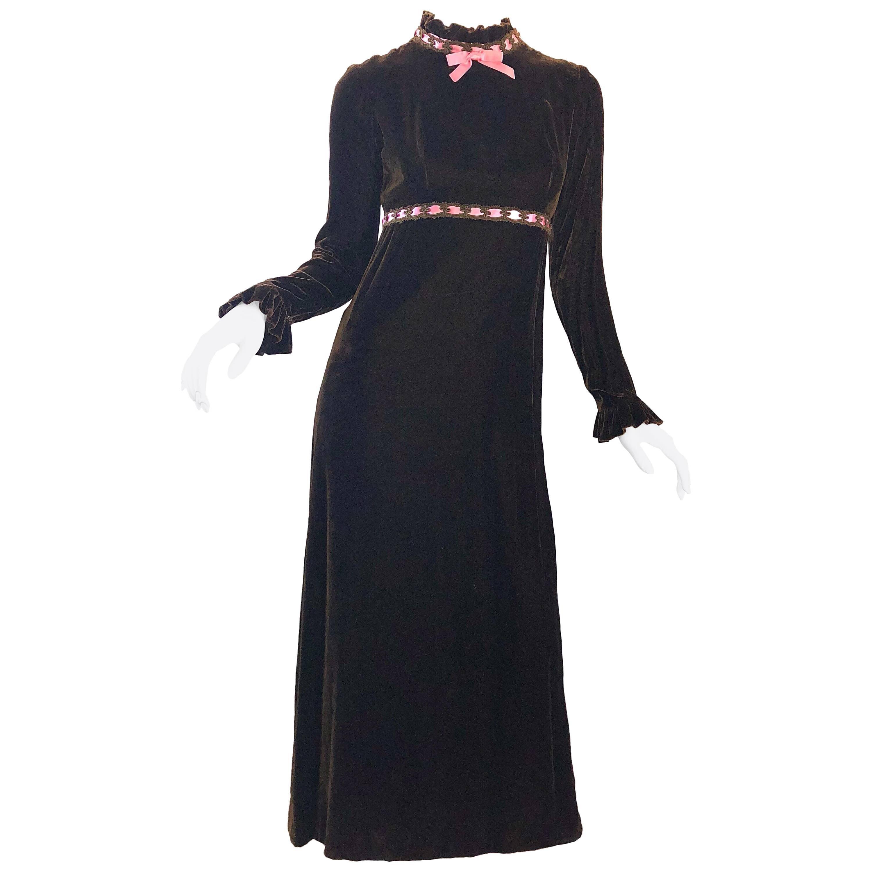 Chocolate Maxi Dress