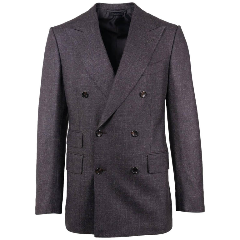 Tom Ford Dark Gray Shelton Double Breasted 2PC Suit